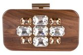 Devi Kroell Embellished Wooden Clutch
