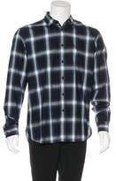 Saint Laurent Plaid Woven Shirt