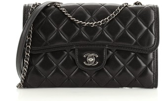 Chanel Citizen Chain Flap Bag Quilted Lambskin Small
