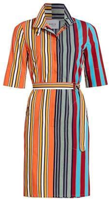 Akris Punto Parasol Striped Shirtdress