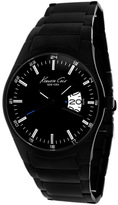 Kenneth Cole KC9290 Men's Classic Black Stainless Steel Watch