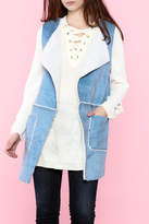 B-Sharp Sky Blue Vest