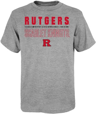 "NCAA Unbranded Boy's 4-20 Rutgers Scarlet Knights ""Launch"" Short Sleeve Tee"