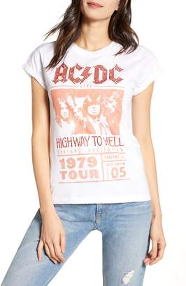 Recycled Karma Crystal Embellished AC/DC Highway to Hell Tour Tee