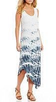 XCVI Velma Tie-Dye Overlay Dress