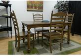 Sheridan Carolina Cottage 60 in. W Weathered Oak Rectangular Dining Table Top