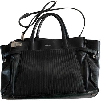 Zadig & Voltaire Candide Black Leather Handbags