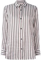 Isabel Marant 'Manray' striped shirt - women - Silk/Ramie - 42