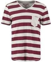 Tom Tailor Denim Basic Fit Print Tshirt Ecru Melange