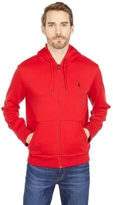 Polo Ralph Lauren Double Knit Tech Jacket (Derby Blue Heather/C7587) Men's Clothing