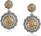 The Sak Concho Double Drop Earrings