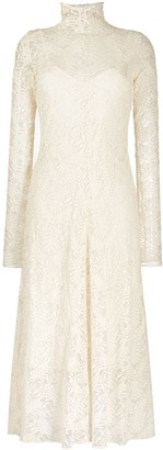 Forte Forte Embroidered Long Sleeve Dress