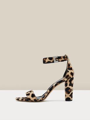 Diane von Furstenberg Chainlink 90 Leather Sandals