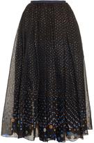 Thierry Colson Grisette polka-dot midi skirt