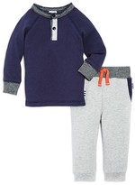 Splendid Boys' Henley Tee & Jogger Pants Set - Sizes 2-7