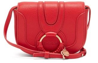 See by Chloe Hana Mini Grained-leather Cross-body Bag - Red