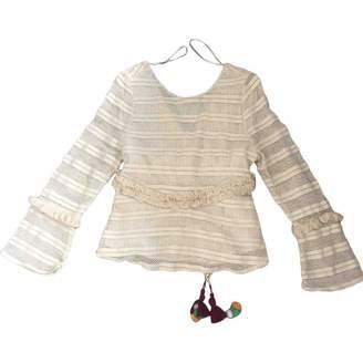 BEIGE Zara Cotton Top for Women