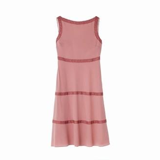 Ethereal London Viola Plain Knee Length Dress