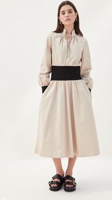 Tory Burch Rib Waist Dress