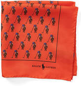 Ralph Lauren Polo Player Silk Pocket Square