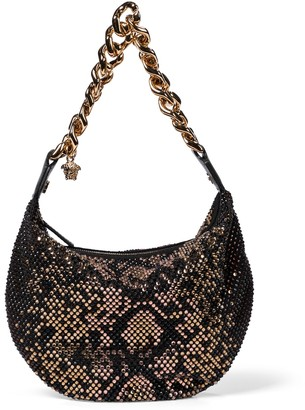 Versace Embellished shoulder bag