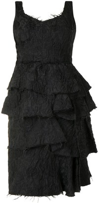 LANVIN Pre-Owned Layered Lace Dress
