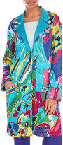 Leonard Multicolor Printed Coat