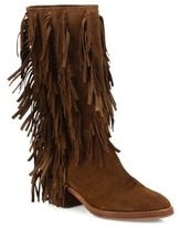 Aquatalia Lisette Fringed Suede Boots