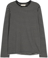 Folk Striped Cotton Top