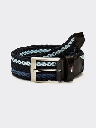 Tommy Hilfiger Stripe Stretch Belt