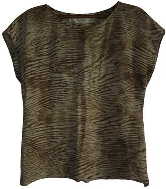 Ungaro Beige Silk Top for Women Vintage