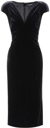 Tom Ford Sleeveless velvet dress