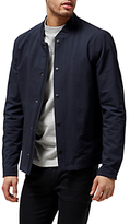 Selected Homme Square Bomber Jacket, Dark Sapphire