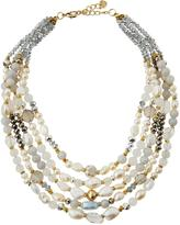 Nakamol Multi-Strand Pearl, Crystal & Stone Beaded Necklace