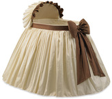 Bed Bath & Beyond Elegant Ivory and Brown Bassinet