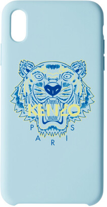 Kenzo Blue and Yellow Tiger iPhone Xand Case
