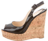 Christian Louboutin Une Plume 140 Wedges