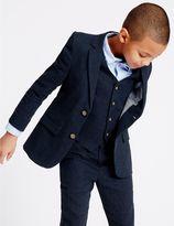 Marks and Spencer Linen Blend Blazer (3-14 Years)