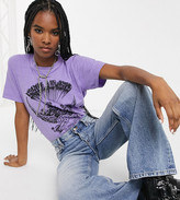 Reclaimed Vintage inspired overdye t-shirt with wings print