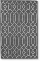 L.L. Bean Indoor/Outdoor Easy-Care Rug, Geo Print