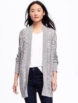 Old Navy Cable-Knit Open-Front Cardi for Women