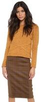 Jenni Kayne Cable Crew Neck Sweater