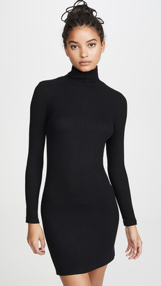 LnA Zip Turtleneck Dress