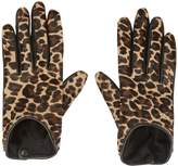 Agnelle Leopard Gloves