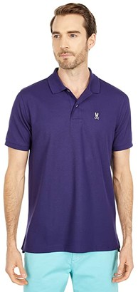 Psycho Bunny Classic Polo (Astral) Men's Clothing