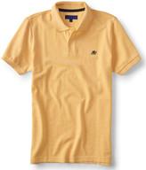 A87 Solid Oxford Piqué Polo