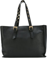 L'Autre Chose eyelet handle tote - women - Leather - One Size