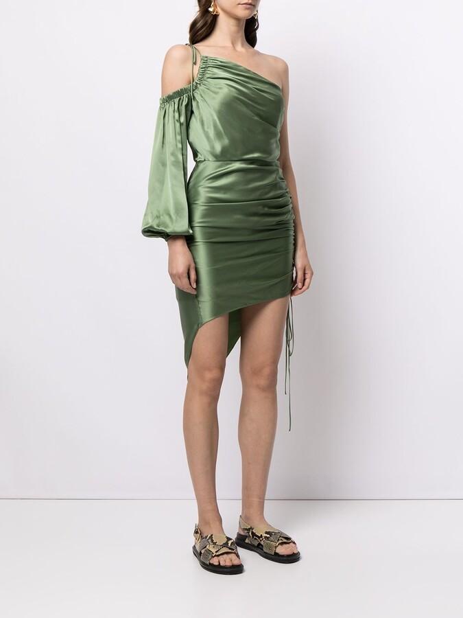 Thumbnail for your product : Cinq à Sept One-Shoulder Draped Dress
