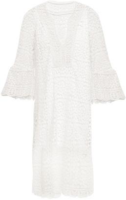 Kate Spade Cotton Guipure Lace Dress