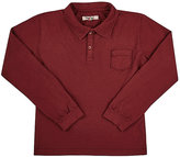 Nupkeet NUPKEET LONG-SLEEVE POLO T-SHIRT